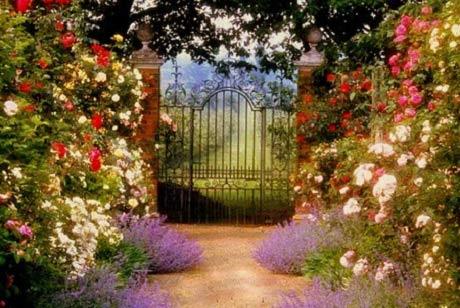 вход в сад