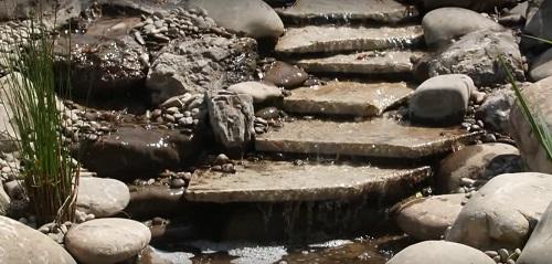 фото искусственного водопада